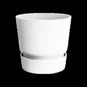 Ghiveci pentru exterior cu farfurie integrată Greenville round, cu diametrul de 30 cm