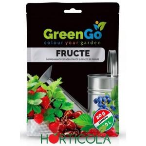 Îngrășământ solubil GreenGO pentru fructe