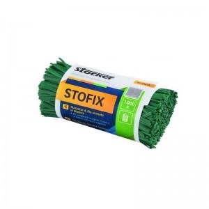 Fir plastificat Stofix, buchet 1.000 bucăți, 20 cm