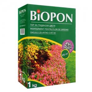 Îngrășământ pentru flori de grădină BIOPON