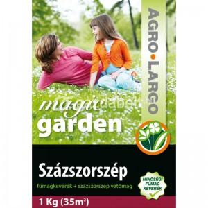 Semințe de iarbă amestec cu semințe de flori mărgărită Agro-Largo 1 kg